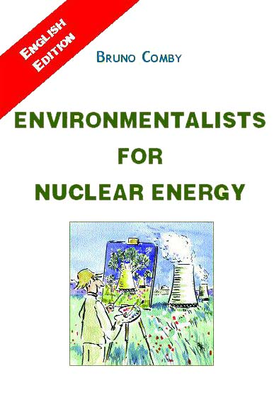 Comby book cover : Environmentalists For Nuclear